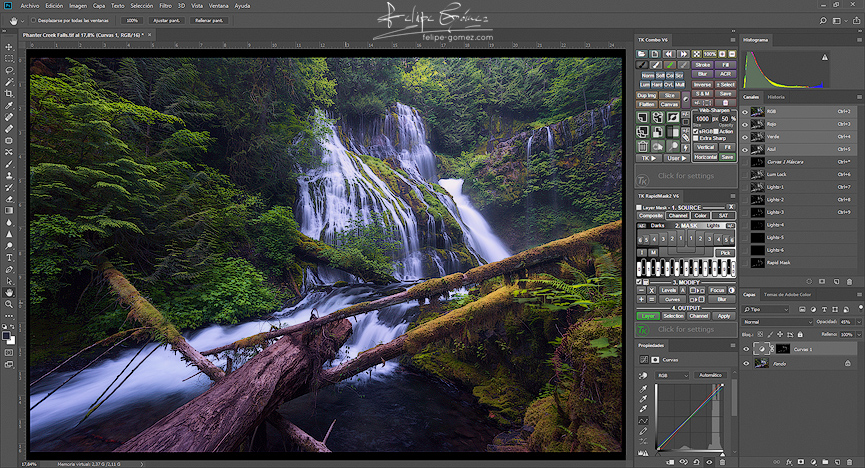 Cursos de revelado digital RAW en Photoshop Felipe Gomez